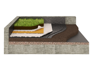 Insulation of Green Roofs