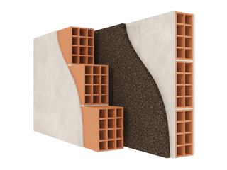 Insulation of Exterior Walls with Air Void