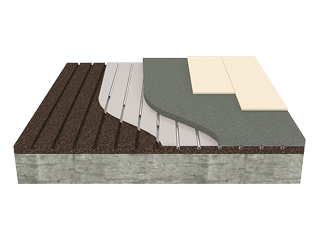 Insulation of Heated Floors