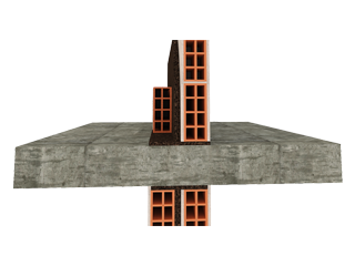 Structural Discontinuity of Walls